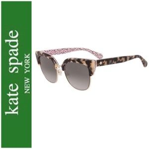 NEW! ♠️Kate Spade ♠️ Karri Havana Pink Sunglasses